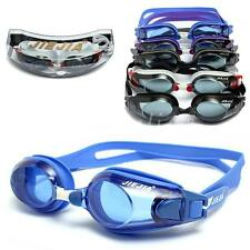 Waterproof Adjustable Anti-fog UV Protection Silicone Swimming Goggles Glasses