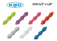 "KMC Chain Z410 1/8"" x 1/2"" Colored Moped Scooter Puch Sachs Minarelli Murray"