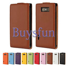Real Genuine Leather Cover Case For LG Optimus L7 P705/P705G/700