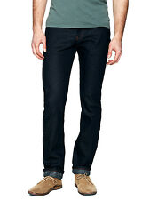 NAKED & FAMOUS WEIRD GUY RAW RIGID JAPANESE INDIGO TWISTED YARN WEFT JEANS $175+