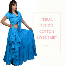 39 inches 25 Yard Gypsy dance Skirts - Plus size skirts variation