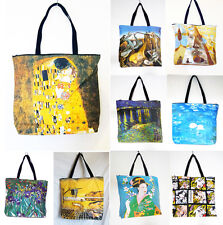 OVERNIGHT /SCHOOL/FLIGHT/SPORTS bag, REPRODUCTION of Salvador Dali, Gustav Klimt