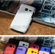 Useful Hard Plastic Back Protector Cover Case For SAMSUNG GALAXY Y Duos S6102