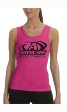 Ladies AdvoCare Logo Tank Top Shirt - Hot Pink with Black Logo