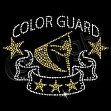 NWOT COLORGUARD SEQUIN UNISEX T-SHIRT MARCHING BAND