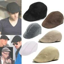 2014 New Men's Summer Beret Country style Flat Caps Golf Newsboy Baker Hat LD