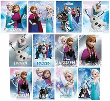 FROZEN - POSTERS (Official Disney) Selection of Styles & Sizes (Anna/Elsa/Olaf)