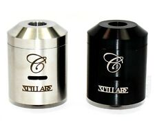 STILLARE V2 CARTEL Clone STAINLESS OR BLACK Rebuildable Drip Atomizer RDA Tobeco