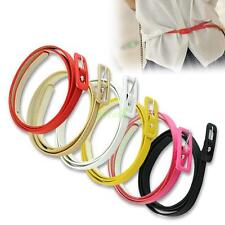 Candy Color Adjustable Waist Narrow Thin Skinny Belt 6 Colors