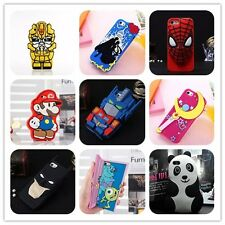 3D Sailor moon panda, For Apple iphone 5 5s 5C silicone phone cover case