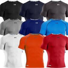 Under Armour 2014 Mens HeatGear Sonic Compression SS Sports Base Layer Top
