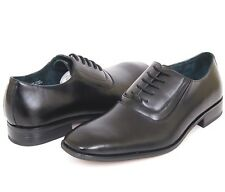 Mens Lace up Dress Shoes Oxfords Leather Lined Free Shoe Horn Formal Wedding NEW