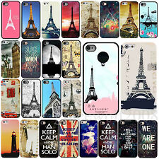 New Vintage Eiffel Tower Painted Phone Hard Skin Case Cover For iPhone 4 4S 5 5C