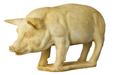 Outdoor Pig Garden Statue by Orlandi Statuary - Made of Faux Concrete-FS7129