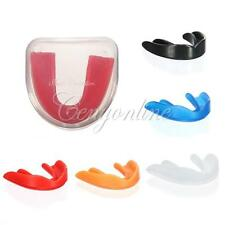 Silicone Mouth Guards Stop Bruxism Sheild Tray Teeth Grinding Dental in box