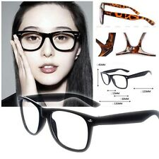 New 2013 CLEAR LENS VINTAGE STYLE  Hipster Glasses Sunglasses NERD GEEK RETRO