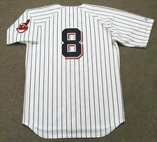 RAY FOSSE Cleveland Indians 1970 Majestic Cooperstown Home Baseball Jersey