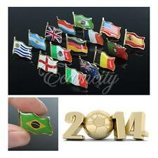 National Flag Badge 2014 FIFA World Cup Sport Activities Gifts Pin Badge Country