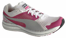 Puma Faas 800 Womens Trainers Running Shoes Rose White Lace Up 185779 01 D19