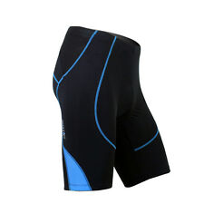 Men's Black Bike Bicycle Cycling Shorts Pants 3D Padded Tights Clothing M-XXXL