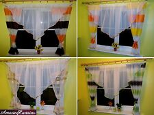 "Ready Made Net Curtain Perfect for Small Medium Window  94.5""(240cm), 39""(100cm)"