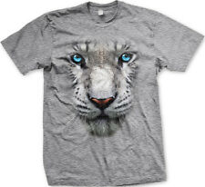 Tiger 3D White Siberian Cat Lion Leopard Jungle FREE SHIPPING New Mens T-shirt