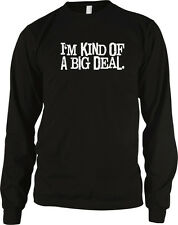 Im Kind Of A Big Deal Ron Burgundy Anchorman Funny Movie Long Sleeve Thermal