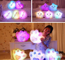 New ! Romantic LED Light Cartoon Cute Colorful Pillow Christmas Birthday gifts