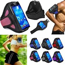 Thin Sports Running Checker Armbands Case Cover Holder for Samsung Galaxy S3 S4