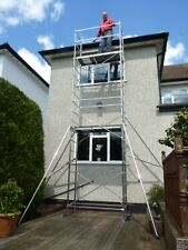 LATEST DIY Aluminium Scaffold Tower/Towers - 4m - 7m! Free Next Day Delivery!
