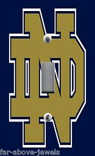Light Switch Plate Switchplate & Outlets ~ with NOTRE DAME COLLEGE LOGO
