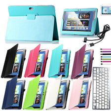 Bluetooth Keyboard Case w/ Stand For Samsung Galaxy Note 10.1 N8010 N8013 N8000