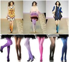 Vintage Lady Sexy 7 Ombre Watercolors Velvet Stockings Tights Leggings Pantyhose