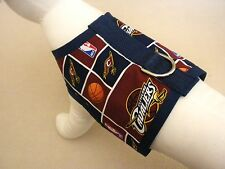 Dog Harness Vest Clothes Apparel Made From NBA Cleveland Cavaliers Fabric