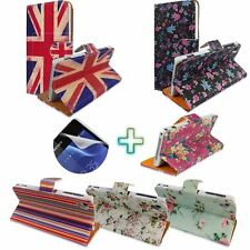 Fashion Flip PU Leather Wallet Card Holder Stand Case Cover For Sony Xperia+Film