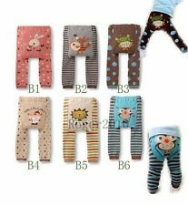 Baby Girl Boy Cute Toddler Animal Leggings Warm Tights Pants Trousers ABCD Size