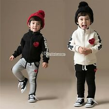 Clothes Set Coats Jackets And Pants Age Sizes Boys Girls Children Pant Cute W3LE