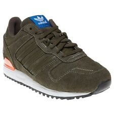 New Boys adidas Green Zx 700 Suede Trainers Retro Lace Up