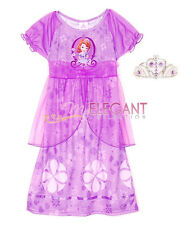 Disney Sofia The First Prinzessin Mädchen Kostüme Kleid Pyjama Costume Dress 3-8