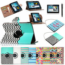"For Samsung Galaxy Note 10.1"" Tablet N8000 N8010 N8013 PU Leather Case Cover"