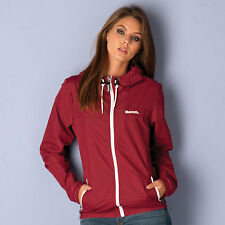 Bench Womens Retro Cag Jacket In Burgundy From Get The Label