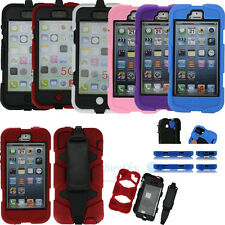 Survivor Waterproof Shockproof Military Duty Case Cover For iPhone 6 5S 5C 5G 4S