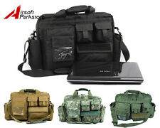 """19"""" 1000D Tactical Military Laptop Notebook Shoulder Bag Carrying Case Briefcase"""