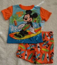 New Boys Toddler Disney Jake Mickey Mouse Planes, Mater, Boys Pajamas 2T, 3T, 4T