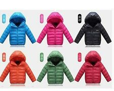new children's clothing boys and girls down jacket girls down clothing