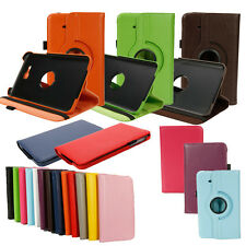 "Multi-color 360 Rotating 7"" Case Cover Stand For Samsung Galaxy Tab 3 Lite T110"