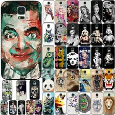Various Wild Animals Beauty Pattern Hard Case Cover For Samsung Galaxy S3 S4 S5