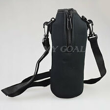 Water Milk Beer Bottle Neoprene Insulated Cover Carrier Bag Pouch Outdoor Sports