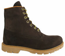 Timberland 6 Inch Basic Mens Boots Leather Brown Lace Up Winter 6400R T4
