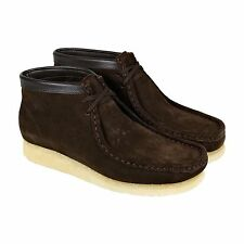 Clarks Originals Mens Wallabee Boot Brown Suede Casual Dress Boots Shoes